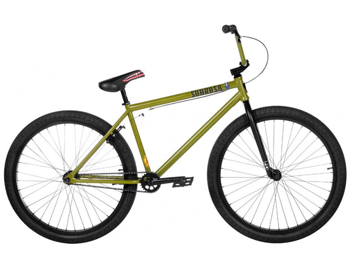 "Subrosa 2019 Salvador 26"" Bike-Satin Army Green"