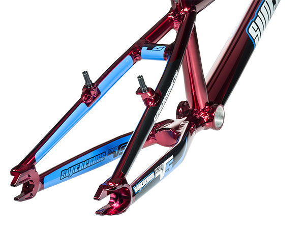 Supercross Envy V5 Race Frame-Translucent Red