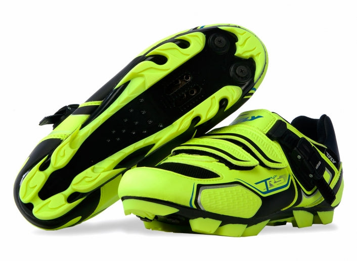 Fly Racing Talon 2016 RS Clipless Shoes-Blue/Hi-Vis