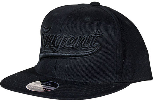 Tangent Youpoong Fitted Hat-Black/Black