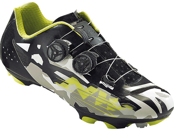 Northwave Blaze Plus Clipless Shoes-Camo/Black