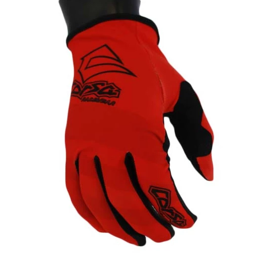 Corsa Unleashed Strapless Race Glove-Red/Black