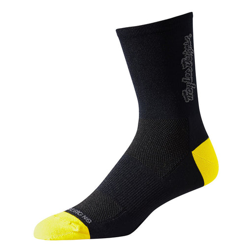 Troy Lee Ace Crew Sock Classic-Black