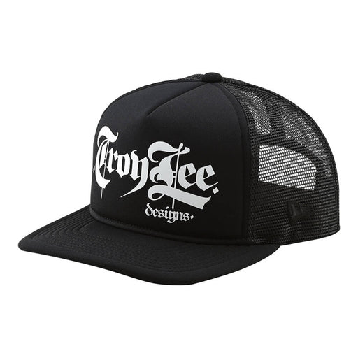 Troy Lee Designs Script Snapback Hat-Black