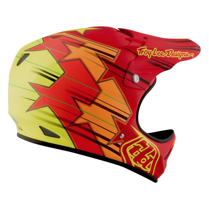 Troy Lee D2 Composite Helmet-Fusion Red