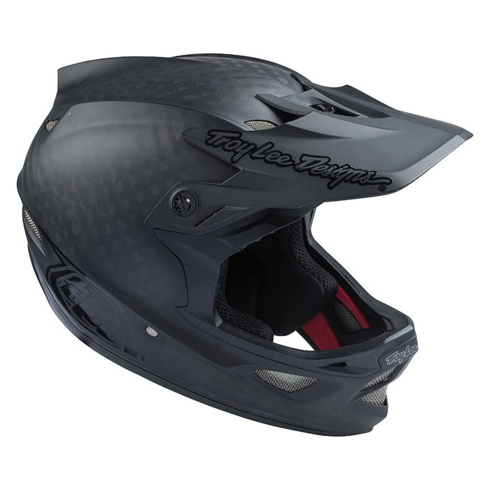 Troy Lee D3 Carbon MIPS Helmet-Midnight Black