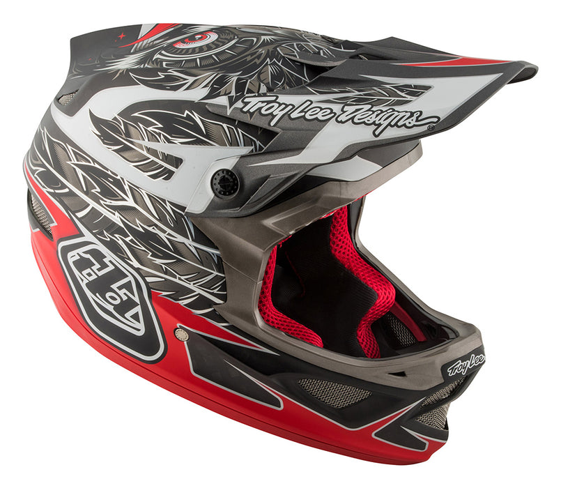 Troy Lee D3 Composite Helmet-Nightfall Black