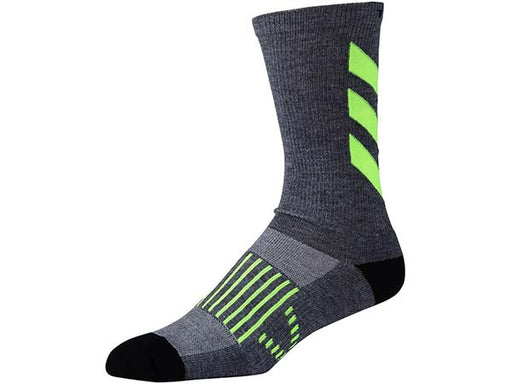 Troy Lee Designs Escape Performance Crew Socks Gray Yellow