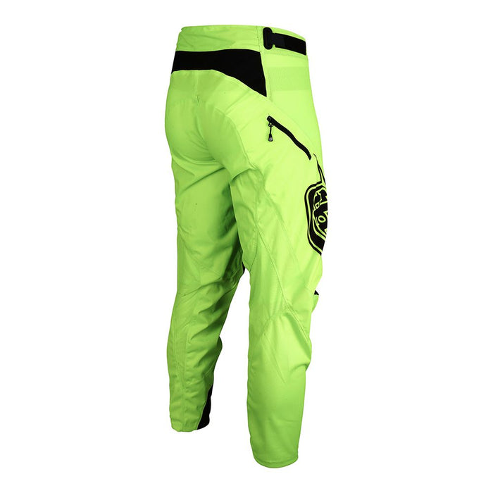 Troy Lee Sprint Pants-Solid Flo Yellow