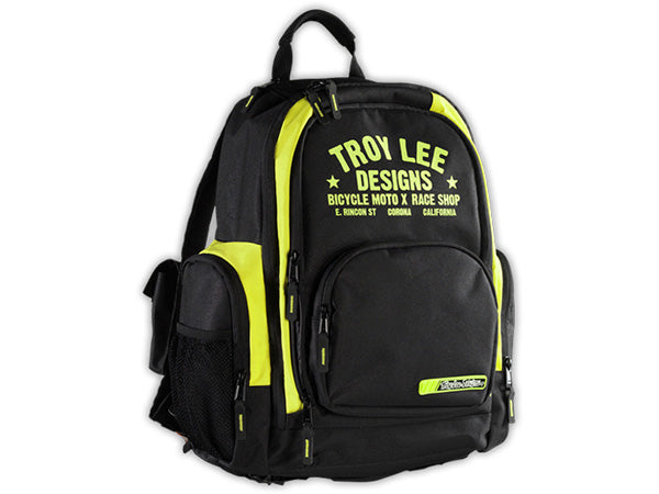 Troy Lee Basic Backpack-Race Shop-Black/Yellow