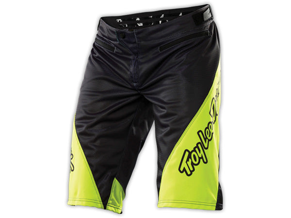 Troy Lee 2015 Sprint Shorts-Gray/Yellow