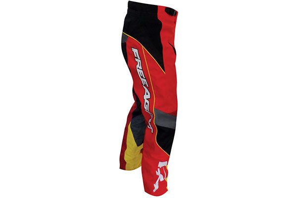 Free Agent Factory Team Pant-Red/Black