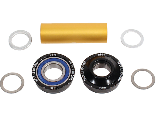 Profile BB-86 Bottom Bracket-Black