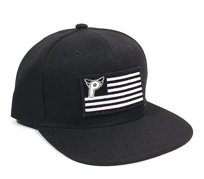 Profile Nation Snapback Hat - Black