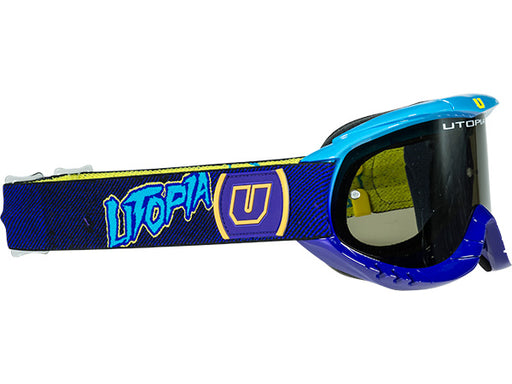 Utopia Slayer Pro MX Poison Goggle-Purple/Cyan