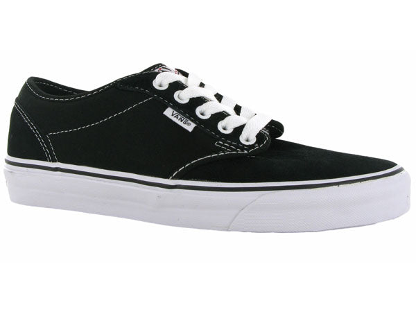 Vans Atwood Shoes-Black/White