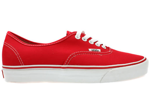 Vans Authentic Shoes-Red