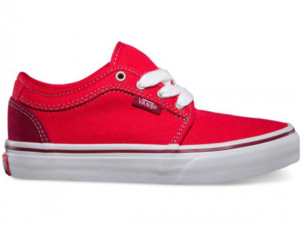 Vans Chukka Low Shoes-Bright Red