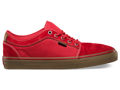 Vans Chukka Low Shoes-Explorer/Red