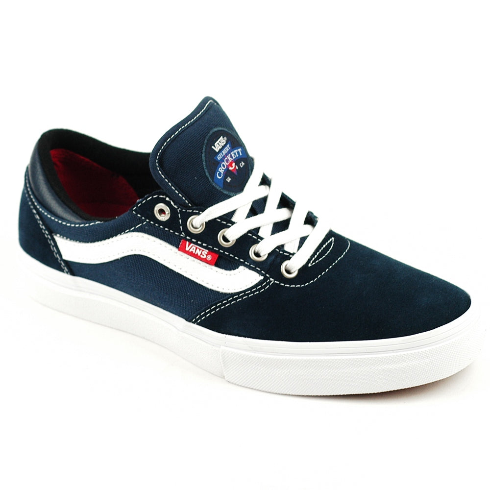 VANS GILBERT CROCKETT PRO SHOES-NAVY/WHITE/RED