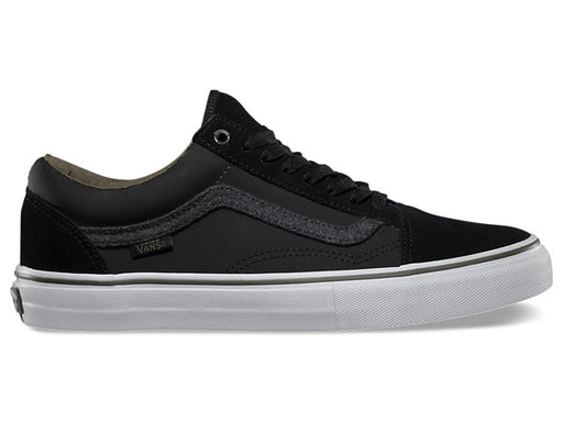 Vans Old Skool 92 Pro Shoes-Black/Wool