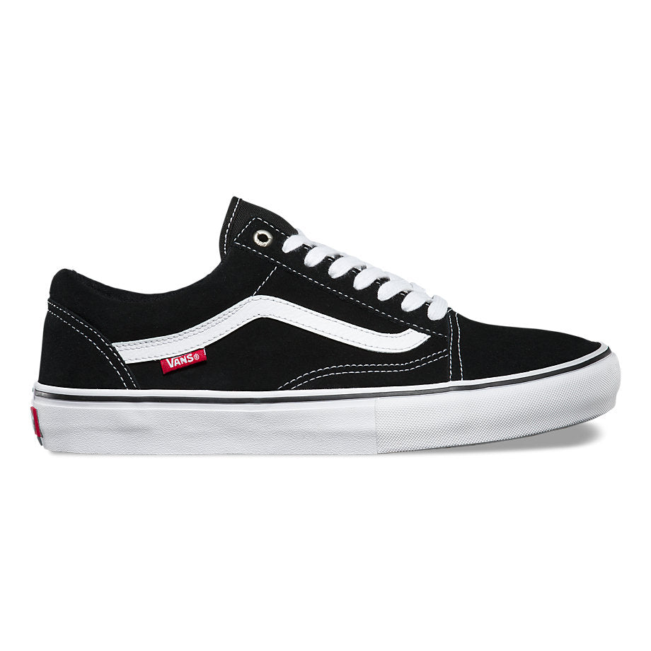 Vans Old Skool Pro-Black/White/Red
