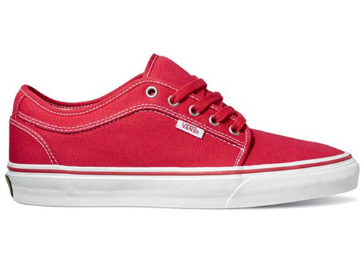 VANS Chukka Low Shoe | RED/KHAKI/WHITE