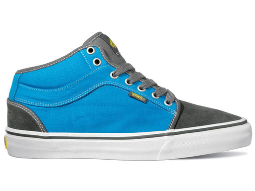 VANS Chukka Mid Shoe | CHARCOAL/BRIGHT BLUE