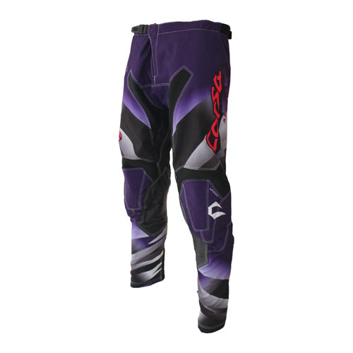 Corsa Warrior BMX Racing Pants-Purple