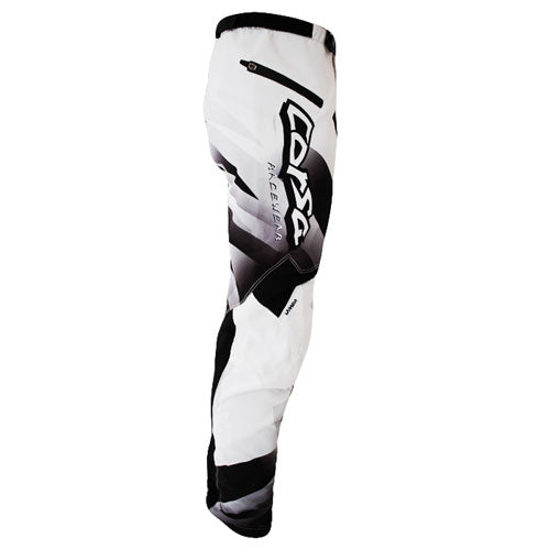 Corsa Warrior BMX Racing Pants-Black-White
