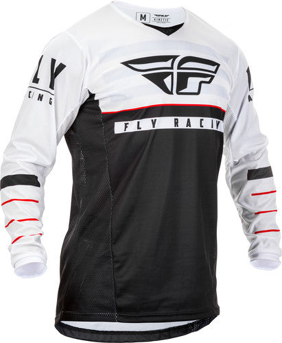 Fly Racing 2020 K120 Jersey-Black/White/Red