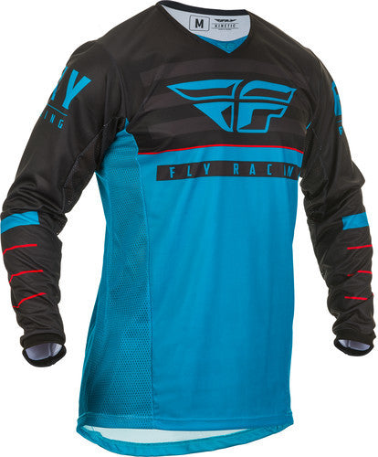 Fly Racing 2020 K120 Jersey-Blue/Black/Red