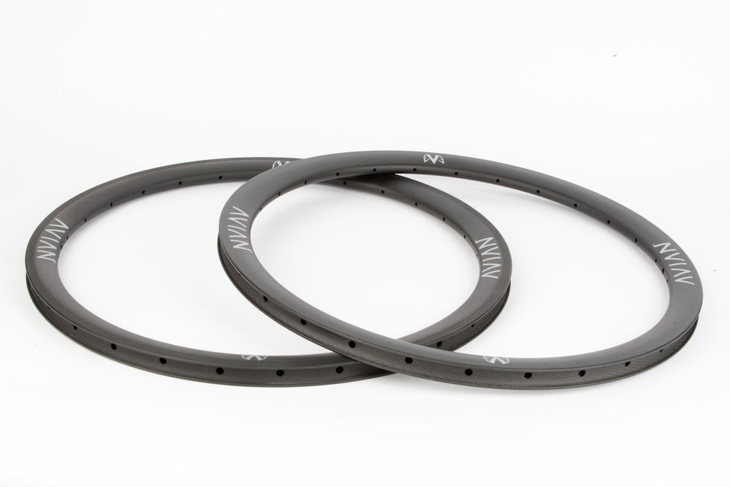 "Avian Venatic Carbon Rear Rim - 28H 24x1-3/8"" - Matte Black"