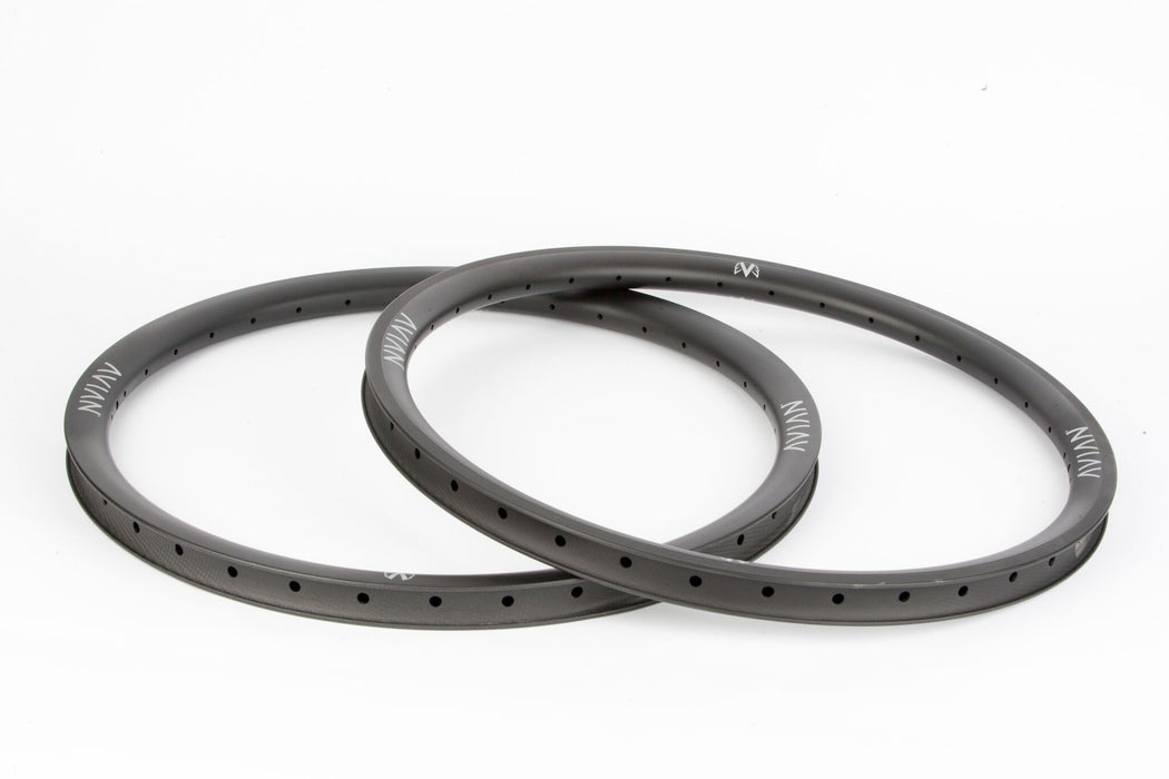 "Avian Venatic Carbon Front Rim - 36H 24x1.75"" - Matte Black"