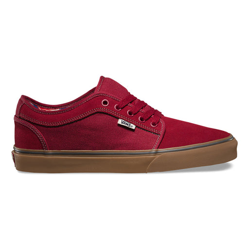 Vans Chukka Low Labels-Rhubarb/Gum