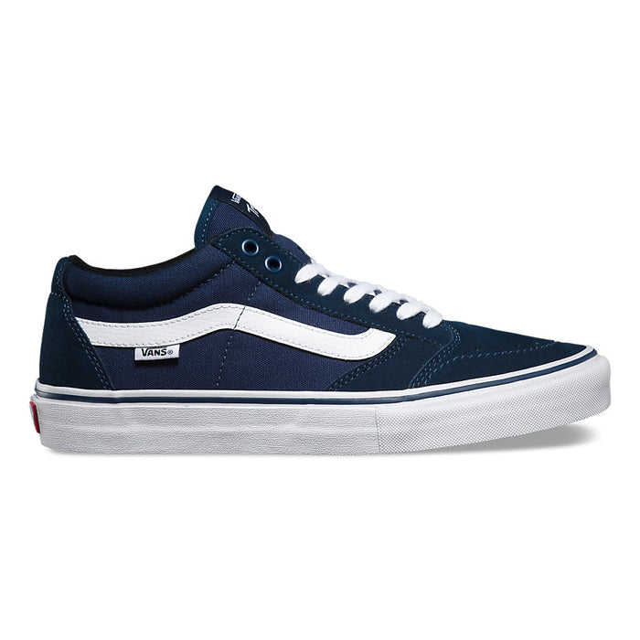Vans TNT Shoe-Signature Navy/White