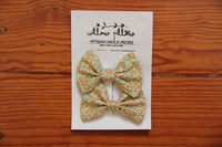 Hairclip Cotton Bow 7