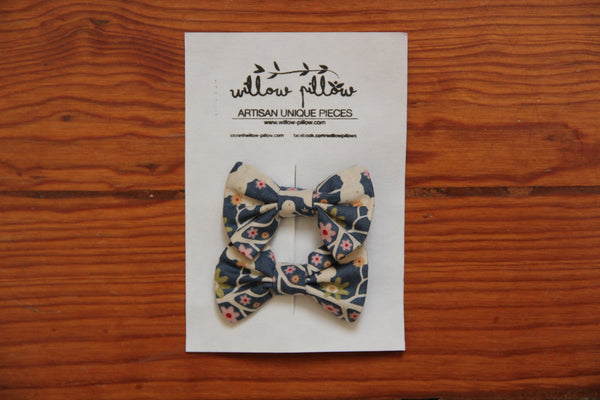 Hairclip Cotton Bow 11