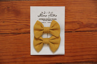 Hairclip Cotton Bow 12