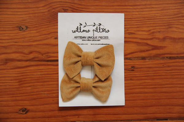 Hairclip Cotton Bow 13