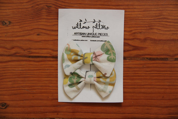 Hairclip Cotton Bow 14