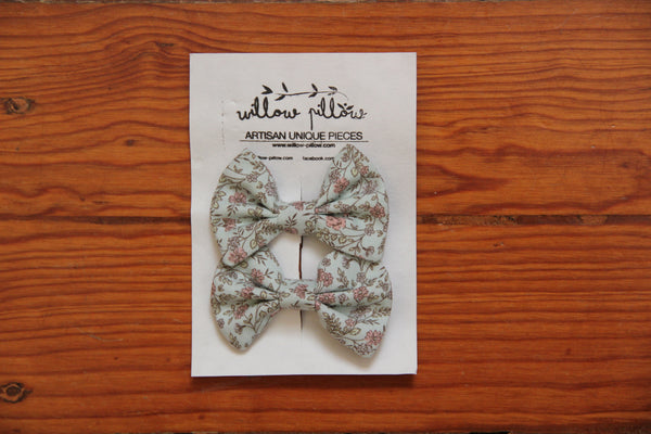 Hairclip Cotton Bow 15