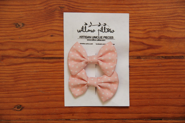 Hairclip Cotton Bow 17
