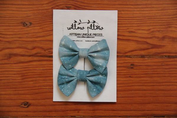 Hairclip Cotton Bow 20