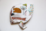 Brimmed Bonnet Animals Snap 12-18m