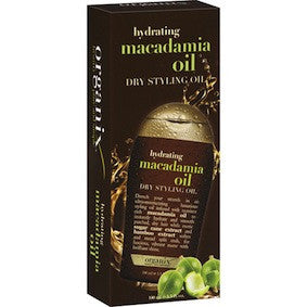Organix Hydrating Macadamia Oil Dry Styling Oil 3.3oz