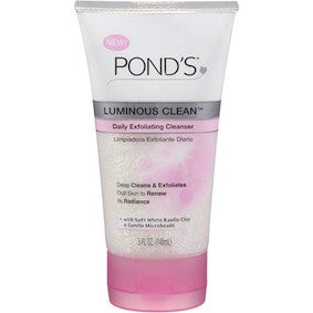 Pond's Luminous Clean Daily Exfoliating Cleanser 5oz