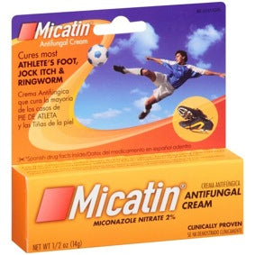 Micatin Antifungal Cream 0.5oz