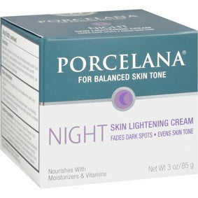 Porcelana Night Skin Lightening Cream 3oz