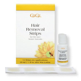 Gigi Facial Hair Removal Strips